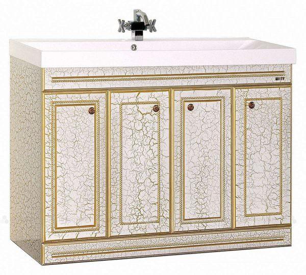 Чтобы «состарить» мебель таким способом, производители используют специальный лак – кракелюрный.