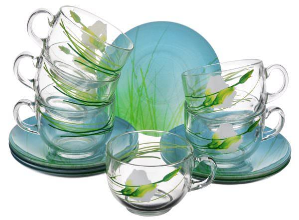 Посуда из стекла идеально подходит для микроволновой печи.
