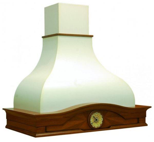 Ретро вытяжка чаще всего купольной формы.