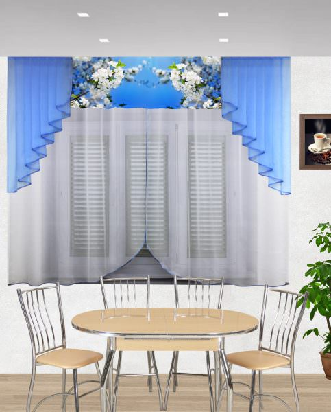 Правильно подобранные шторы могут визуально увеличить или уменьшить кухонное окно, а также подчеркнуть достоинство стиля.