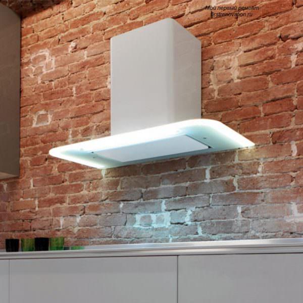 Способ монтажа и внешний вид изделия зависит от особенностей помещения.