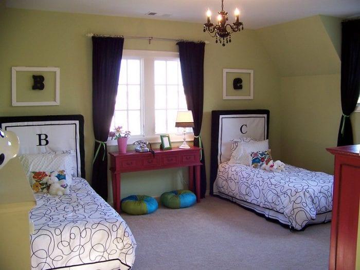 Нейтральный дизайн детской комнаты для мальчика и девочки