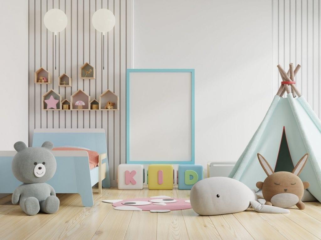 Детская комната для дошкольника с игрушками
