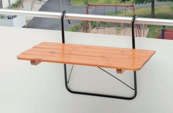 Навесной столик на балкон